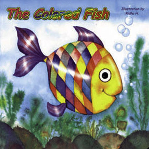 The colored Fish