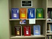 My series on display at the Evangel Church Kelowna Library