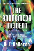 Author and Novelist, R.J. DeNardo as he signs his newest novel entitled The Andromeda Incident