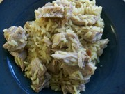 Slow Cooked Pork Chops with Rice