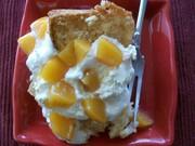 Almond Peach Pound Cake