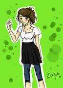En tjej
