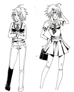 Jaden uniform design