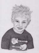 Barn porträtt 2