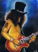 Slash on stage