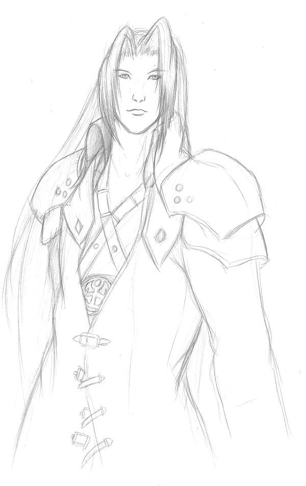 Sephiroth sketch