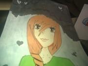 första gången jag målar en bakgrund