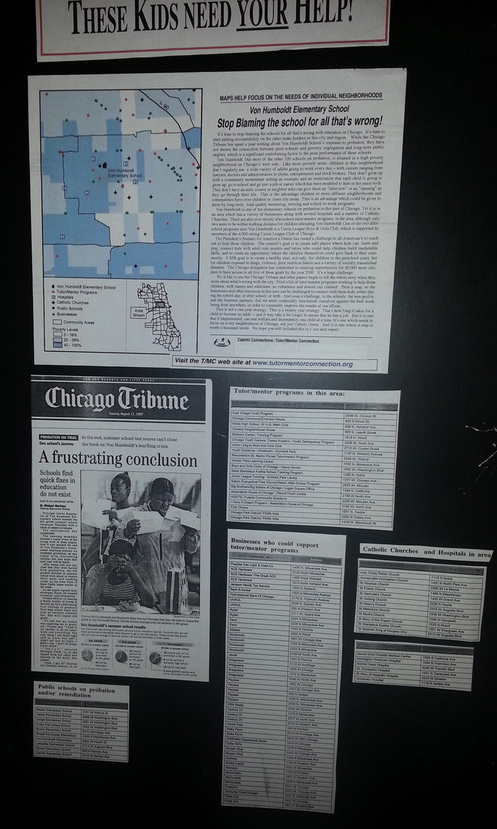 Poorly Performing Schools in Chicago-1997 - Rest of the Story