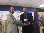 Safwan Shah with Dr. Shamsul Haq