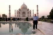Riaz Haq at Taj Mahal
