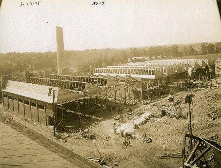 Building the Michelin plant