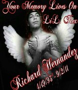 Richards print for his 1year gone