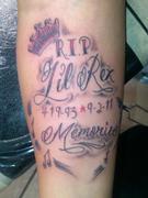 Tattoo in memory of Richard