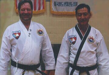 Bill and Grandmaster Im Mook Kim