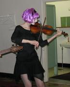 Marisa in her Vampire Squid Mode