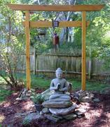 Our backyard shrine