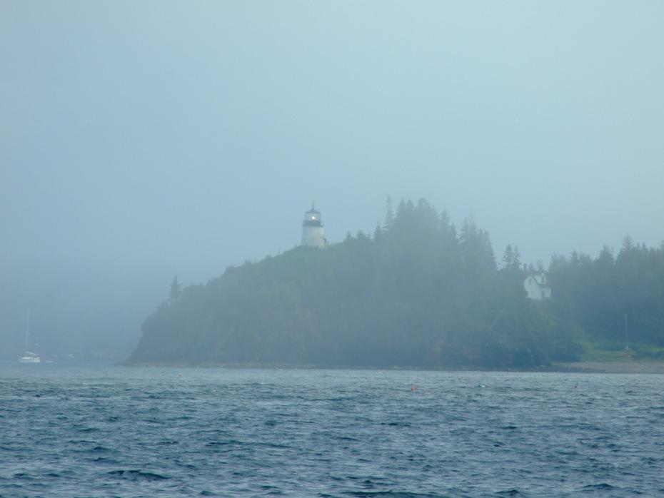 Foggy Penobscot Bay