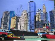 Lower Manhattan from Pier 17