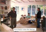 The Great Stan Getz & Wayne Shorter...