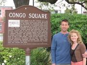 Visiting the original Congo Square