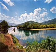 The Drina - Balkan Peninsula