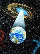 Earth emerging
