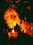 Sunflowers & Candlelight