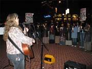 Julie@FreeTibet Rally