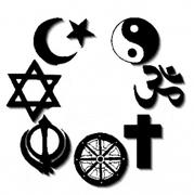 Religious symbols around the globe
