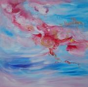 The Water Goddess - original acrylic painting 1993