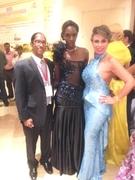 Lord Patterson, Ify Ibekwe and Wonna de Jong