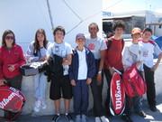 Paros Tennis Academy play in Syros 1-3 May 2009