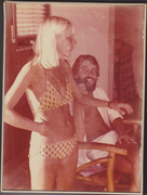 Barb & Geof in mid 70's
