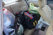 No more room in the car