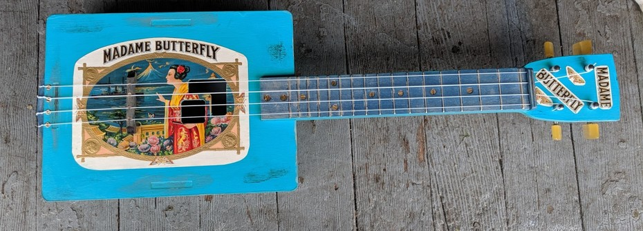 My First Cigarbox Ukulele