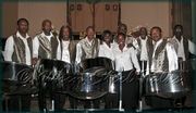 City South Steel Orchestra - proudly made up of Antiguans - after a September 23, 2007 performance in the Bronx