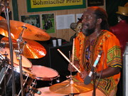 2005-05-15 mit Mamadu Böhm. Prater