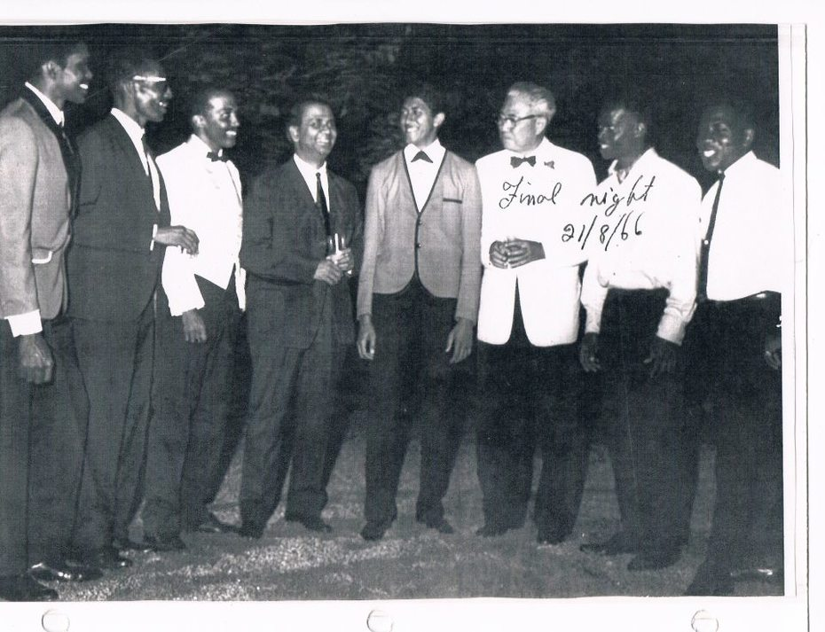 Rare & Memorable Photo - The Steelband Festival Finals of 1966