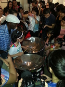 Hameed Shaqq introduces steelpan to China