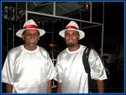 Amrit and Jit Samaroo at Panorama 2005