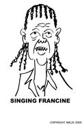SINGING FRANCINE