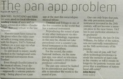 Pan app problem
