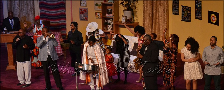 """From """"Pan Man - The Musical"""" - with Jahlani Roberts"""