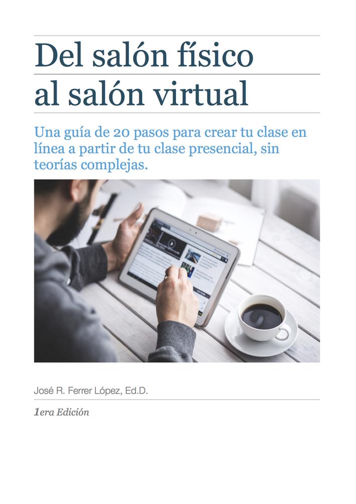 Libro: Del Salón Físico al Salón Virtual