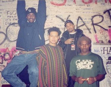 Freestyle Fellowship Backstage London Rebirth of Cool Tour93