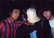 Me, Eric of Archrival (thearchrival.com), Mike of Obey Clothing.