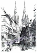 Quimper France Cathedral