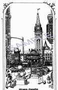 1995 Parliament Peach Tower Ottawa ON