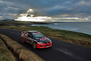 Race Car on the Irish Coast