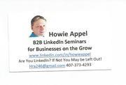 Howie Appel 05-29-15 B2B LI Seminars Bus Cd 001